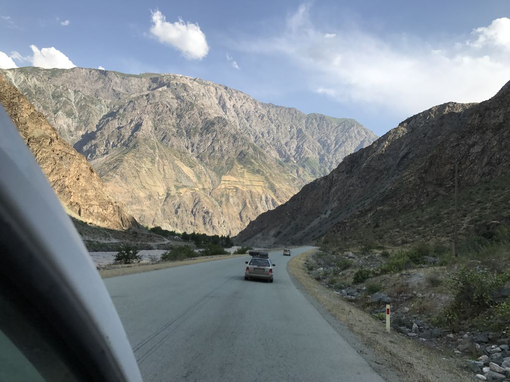 Grenzfluß Afghanistan